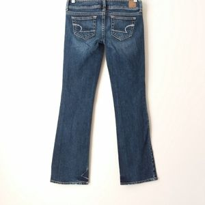 American Eagle Outfitters   Blue Slim Boot Jeans
